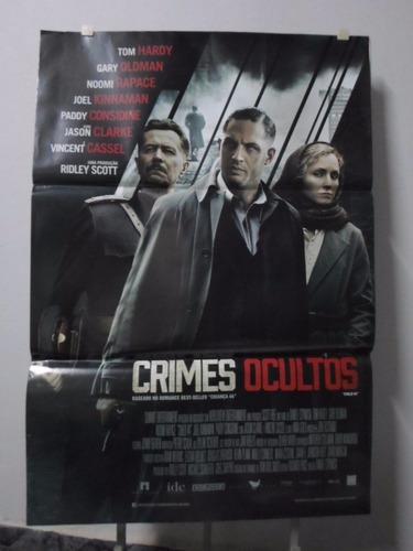 poster crimes ocultos - 64 x 94