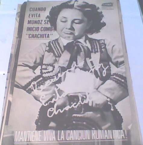 poster de chachita