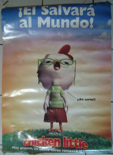 póster de cine: chicken little 70x100 cm