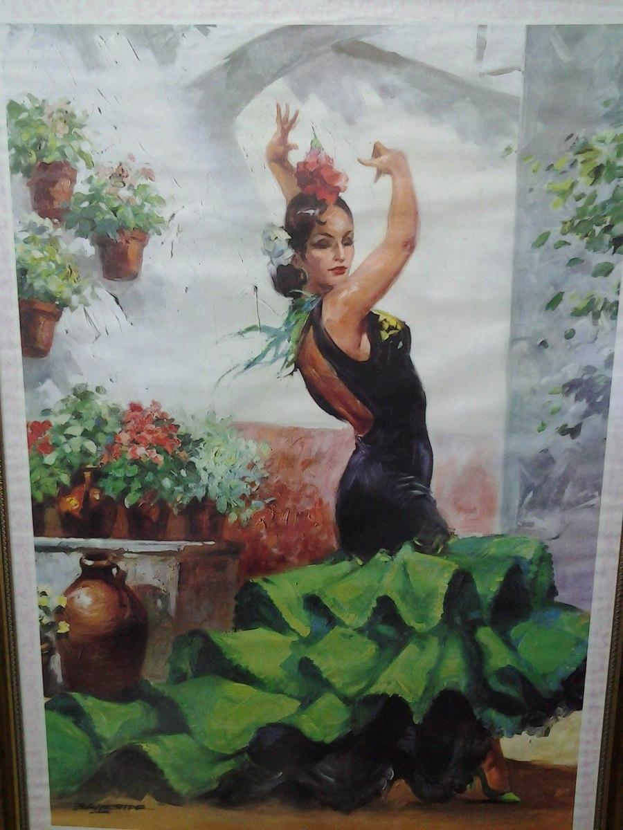 poster de festival de canto e dança espanhola 1973 103x59. Carregando zoom. 825ba0de1cd
