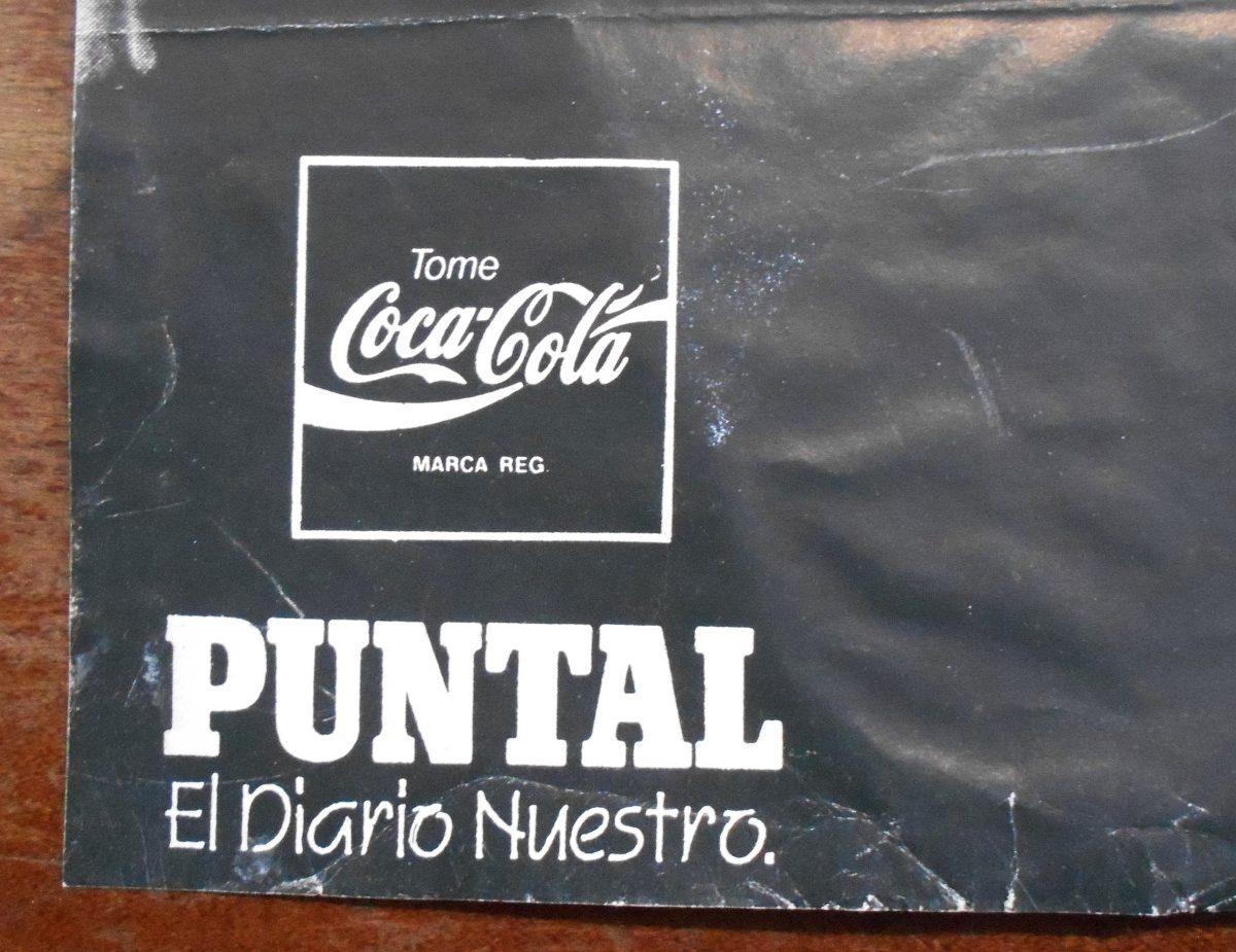 Poster De Fito Paez Diario Puntal Rio Cuarto Cordoba 1993 - $ 300,00