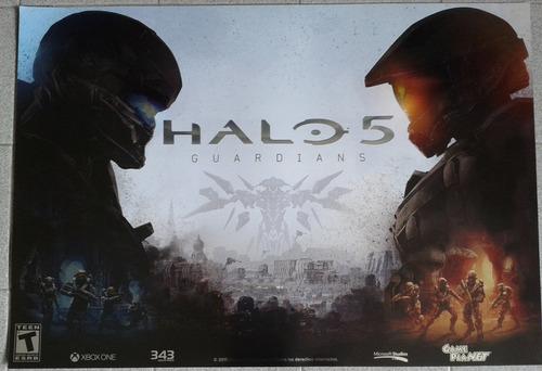 póster de halo 5 de 50x70cm