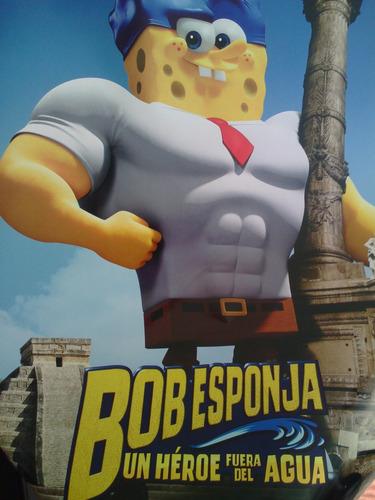 póster de la pelicula bob esponja de cine original