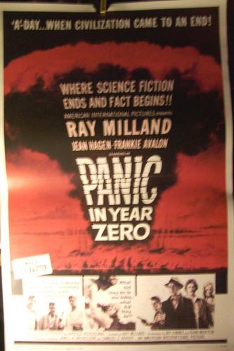 poster de la película panic in year zero ray milland 1962
