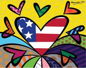 ebd4b04af Romero Britto Love no Mercado Livre Brasil