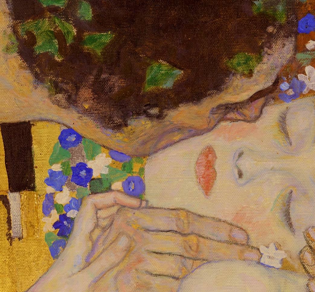 Poster De Pintura El Beso Klimt, Calidad, Decoración, Arte ...