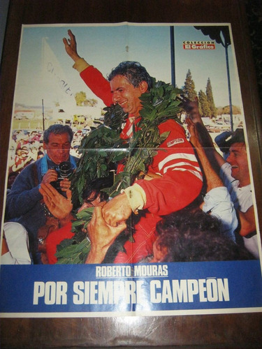 poster de roberto mouras por siempre campeon
