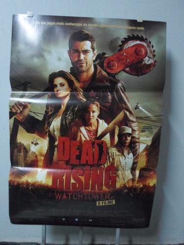 poster dead rising - watchflower - o filme - frete: 8,00