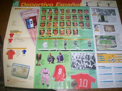poster dep. español - atlas del futbol argentino (380) ole