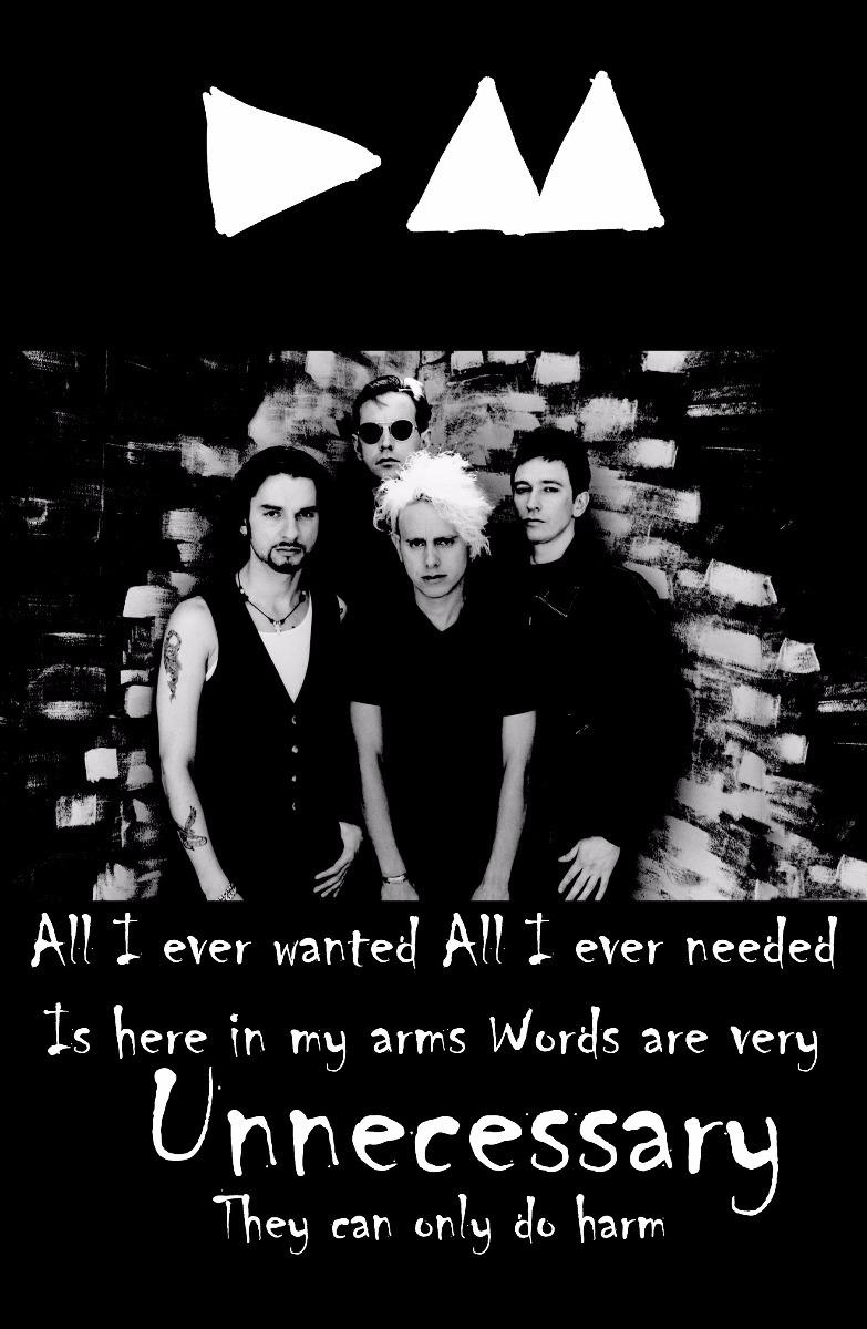 depeche mode enjoy the silence