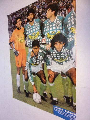 poster deportes temuco formacion 1994. don balon
