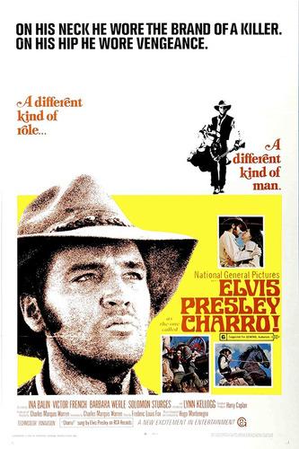 poster do filme charro 1969 elvis presley