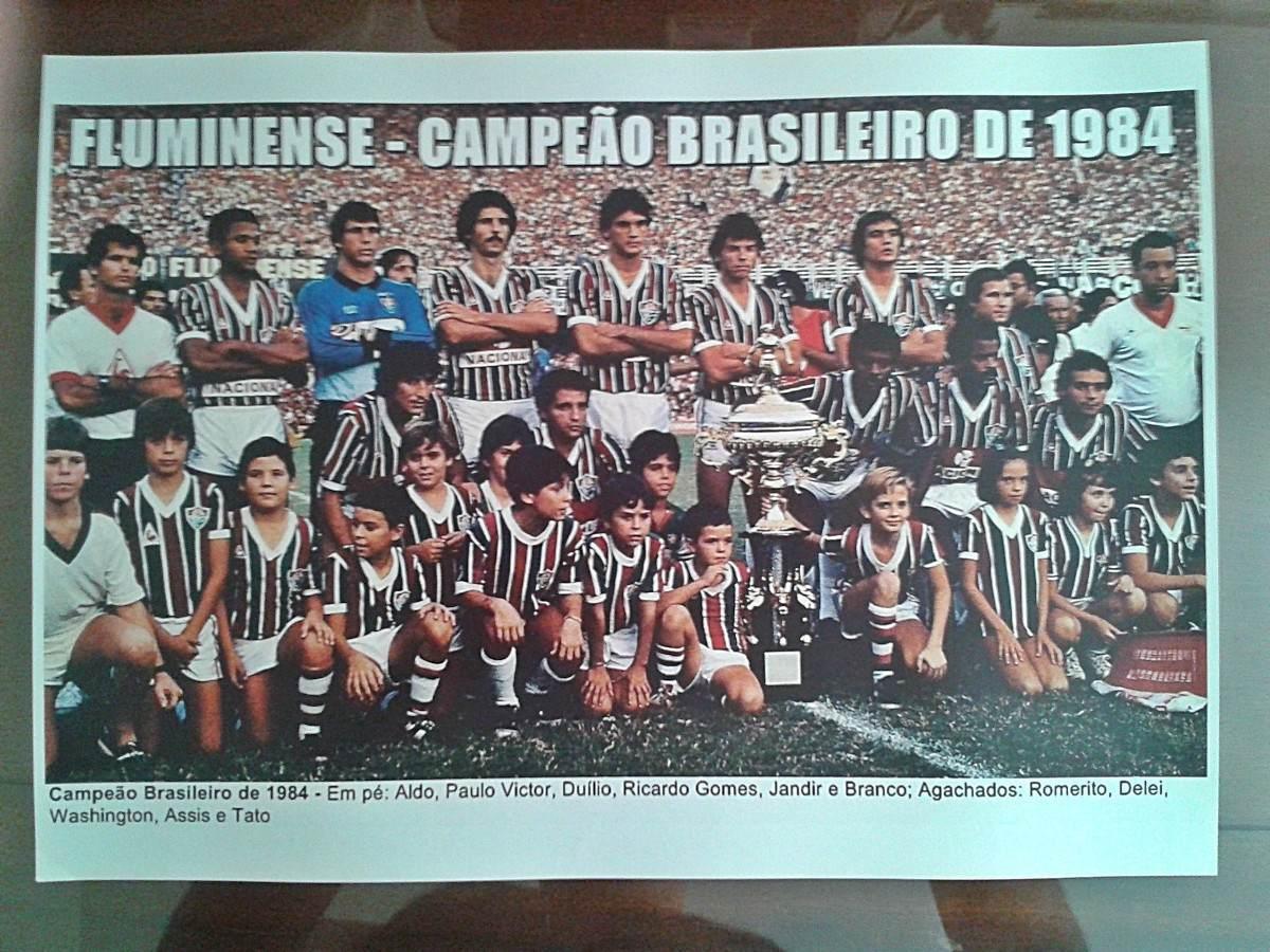 poster do fluminense - campeão brasileiro 1984. Carregando zoom. e983fae9f3fd9