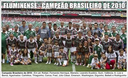 Poster Do Fluminense - Campeão Brasileiro 2010 - R  24 01c4c180627f9