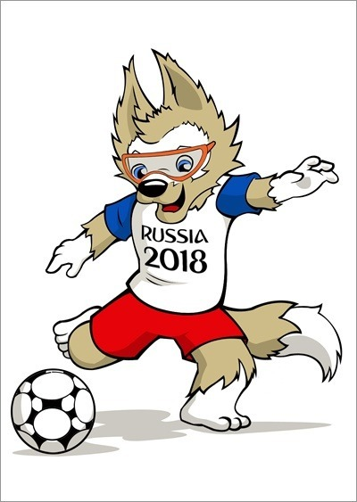 Poster Do Mascote Da Copa Do Mundo De 2018 - Confira! - R  24 a041b9e60f0