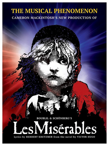 poster do musical les miserables