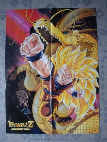 poster dragon ball z coleccion 2000 40 x 54 exc estado