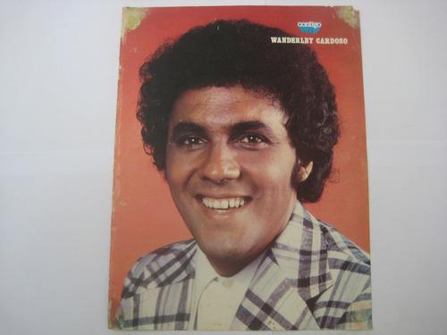 poster dupla face revista contigo wanderley cardoso / wanda