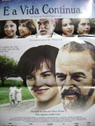 poster e a vida continua - 64 x 94