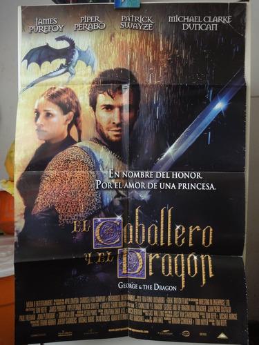 poster el caballero y el dragon james purefoy piper peraboy