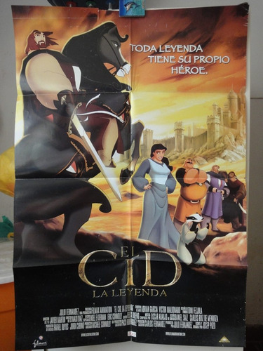 poster el cid la leyenda the legend jose pozo doble vista