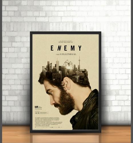 póster enmarcado pelicula enemy . 50x70cm envío gratis