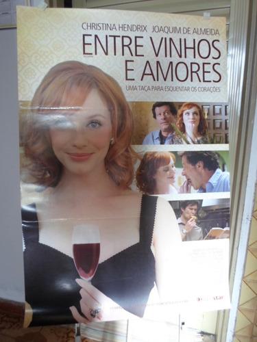 poster entre vinhos e amores - frete: 8,00
