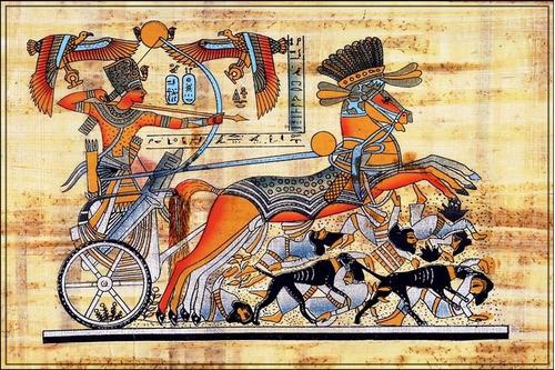 poster estilo egípcio 60cmx90cm arte -- enfeite para sala