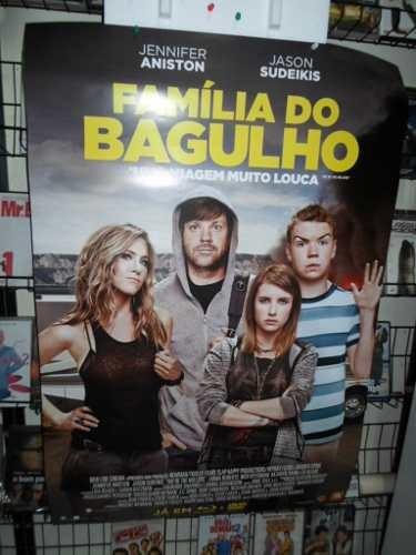 poster familia do bagulho - dupla face - 64 x 94