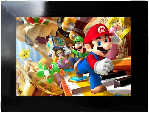 poster games - super mário 2