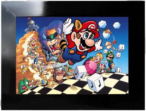 poster games - super mário