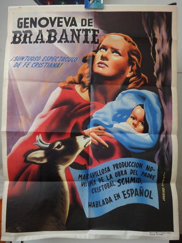 poster genoveva genoveffa di brabante maria jose alfonso '64