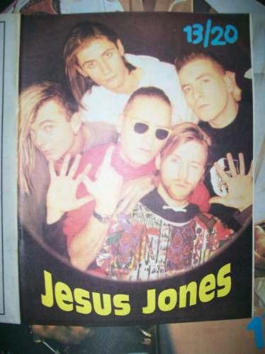 poster george michael / jesus jones (133)
