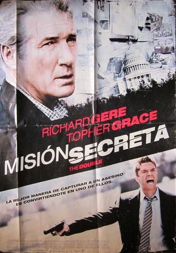 poster gigante de pelicula mision secreta