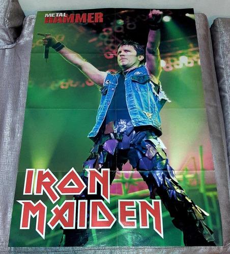 poster gigante metallica & iron maiden nuevo ozzyperu