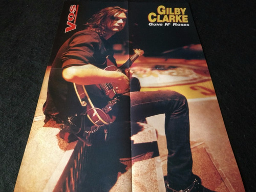 poster gilby clarke * 55 x 39 cms. (n062)