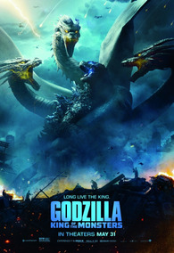 Poster Godzilla 2 King Of Monsters B 75x50cms