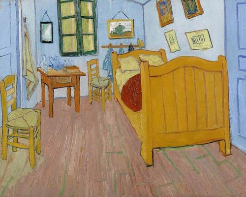 poster gogh foto 60x75cm gravura o quarto enfeite para casa