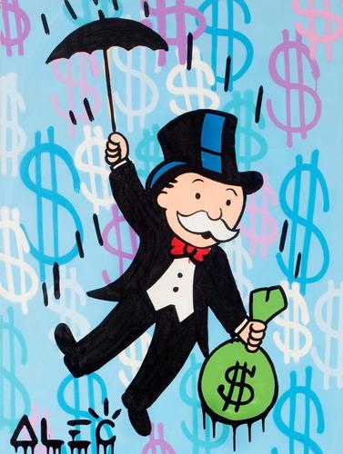 poster grafite 60cmx80cm arte urbana alec monopoly #1