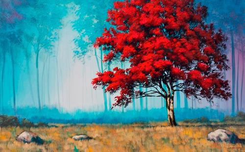 poster gravura paisagem gagnon 65x100cm enfeite para casa
