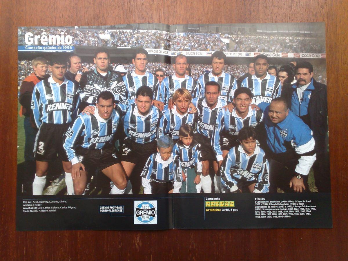 poster grêmio - campeão gaúcho 1996. Carregando zoom. c142908d54fe6