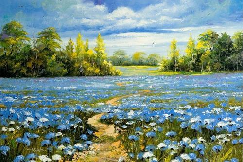 poster hd 65x100cm paisagem obra de arte
