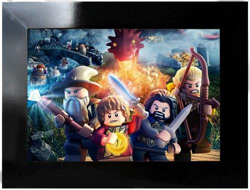 poster - hobbit lego