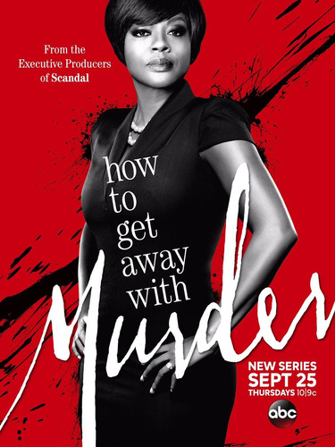 poster how to get away with murder impresso 20 x 30 - qualid