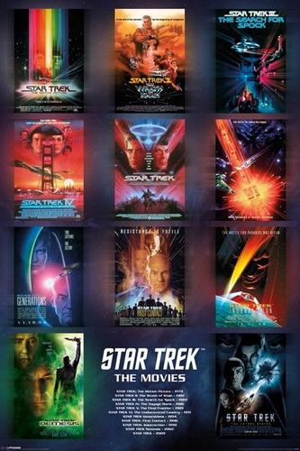 poster importado de star trek - afiches - 60 x 90 cm