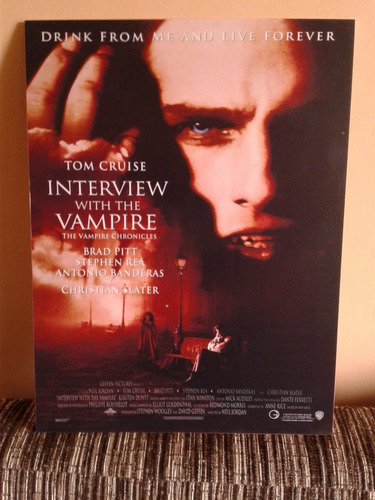 poster : interview with the vampire