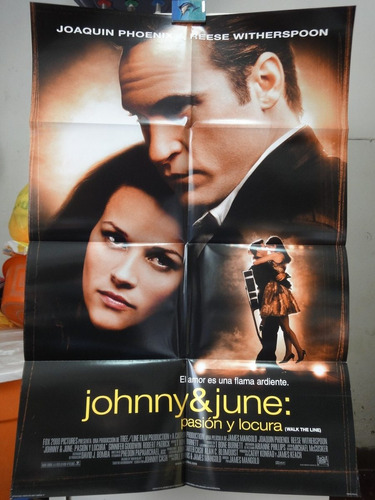 poster johnny & june joaquin phoenix reese whiterspoon 2005