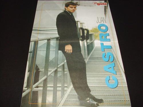 poster juan castro * 2 paginas (c069)