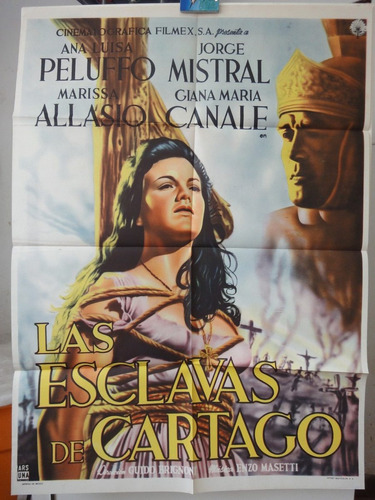 poster le schiave di cartagine sword and the cross ana luisa