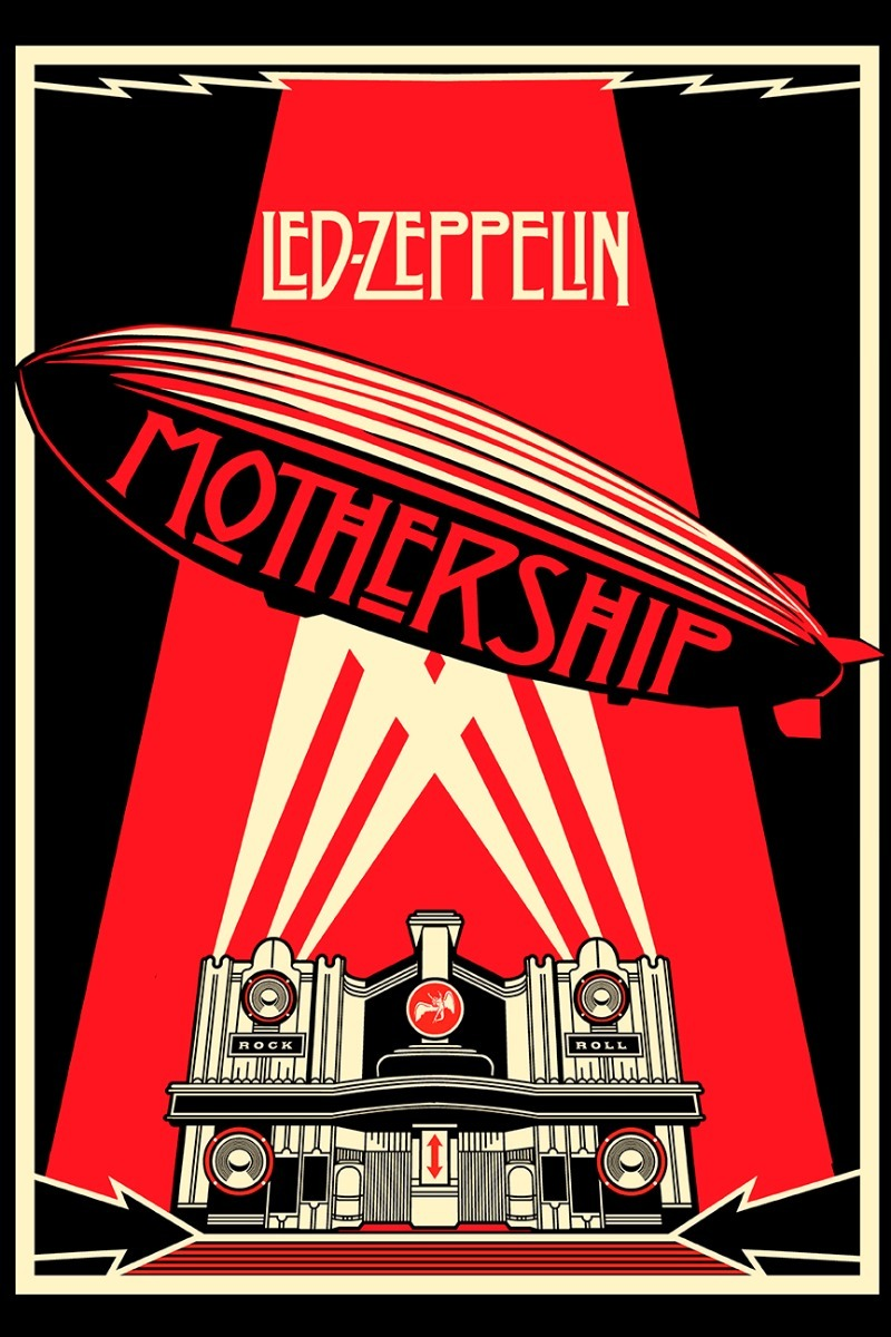 Poster Led Zeppelin Mothership 30x45cm Pink Floyd Rock Po157 80 00 En Mercado Libre